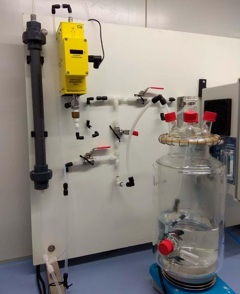 proceso de ozonización de aguas residuales